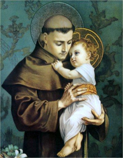 El santo de hoy...Antonio de Padua, Santo Stanthony