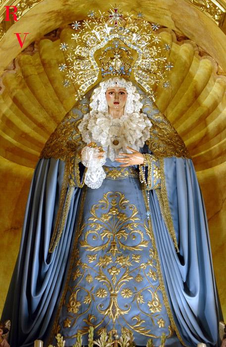 El santo de hoy...Nuestra Señora de los Ángeles Triduoangeles3xn6