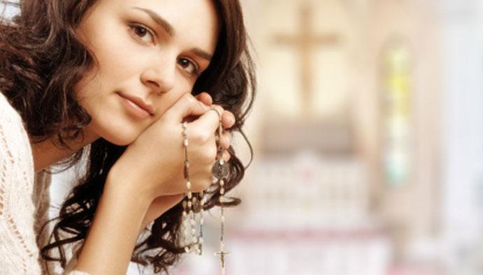 joven catolica