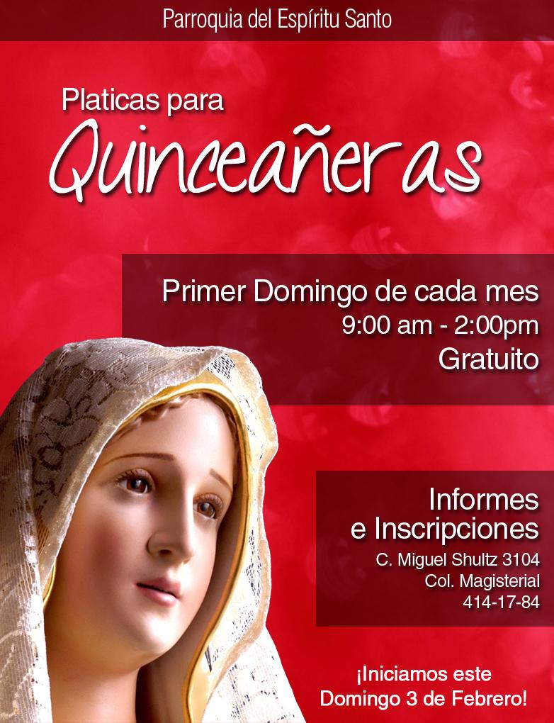 platicas para quinceañeras | Catoliscopio.com
