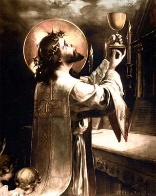 Celebramos con alegría fiesta de Cristo Sumo y Eterno Sacerdote ...