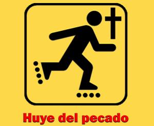 Huye-del-pecado