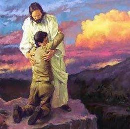 jesus y pecador