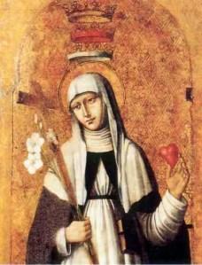 Santa Catalina de Siena (Triple corona)