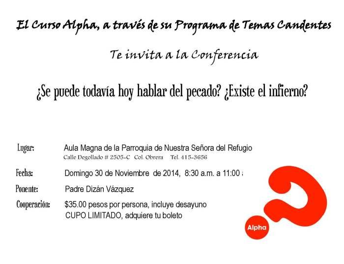Alpha Invitacion noviembre 2014